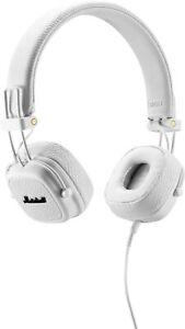 Marshall major III auriculares plegable auriculares estéreo blanco música de sonido cable Bass