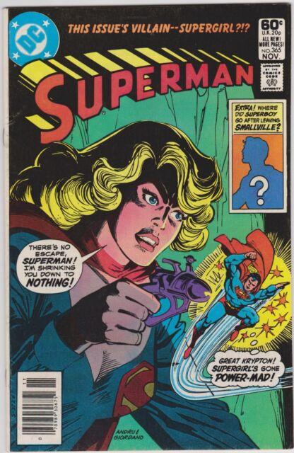 Superman #365 (Nov 1981) FN