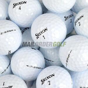 12-24-48-100-PEARL-A-SRIXON-LAKE-GOLF-BALLS-AD333-SOFTFEEL-Z-STAR-XV-DISTANCE