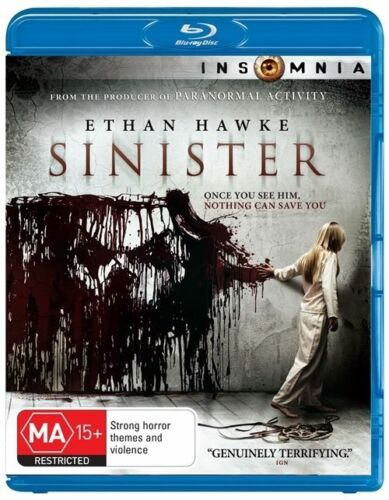 1 of 1 - Sinister (Blu-ray, 2013)