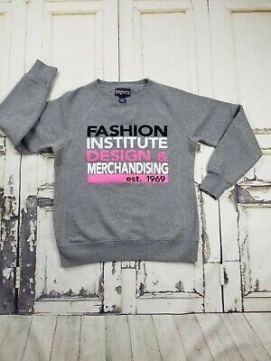 Vintage Fashion Institute Of Design Merchandising Jansport Sweatshirt Xl Gray Ebay
