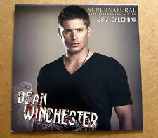 Supernatural Calendar 2012  Jensen Ackles Dean Winchester NEW