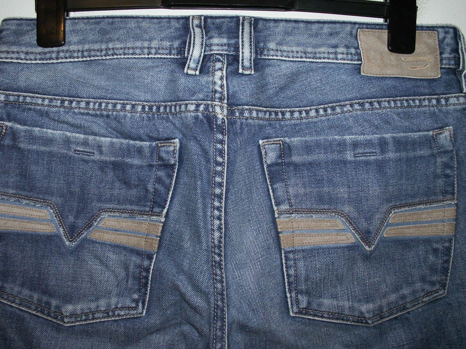 98ef0eb2 DIESEL ZATINY BOOTCUT JEANS 008AT L34 (6057) W32 nbtgii3852-Jeans ...