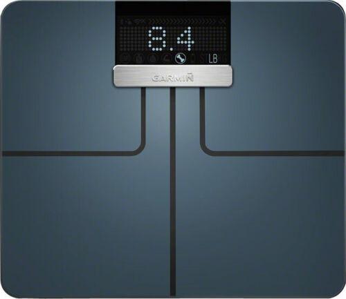 Neu Garmin Zeigefinger Smart Waage Schwarz Wi-Fi Bluetooth Bmi /& Muskelmasse