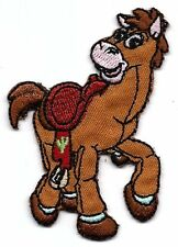 BULLSEYE horse in Disney Toy Embroidered Iron On/Sew On Patch