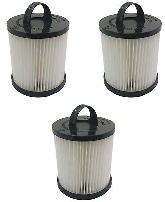 (3) Filter For Eureka Vacuum Dcf21, 67831, 68921, 68931a Hepa, Dust Cup Washable Winst Klein