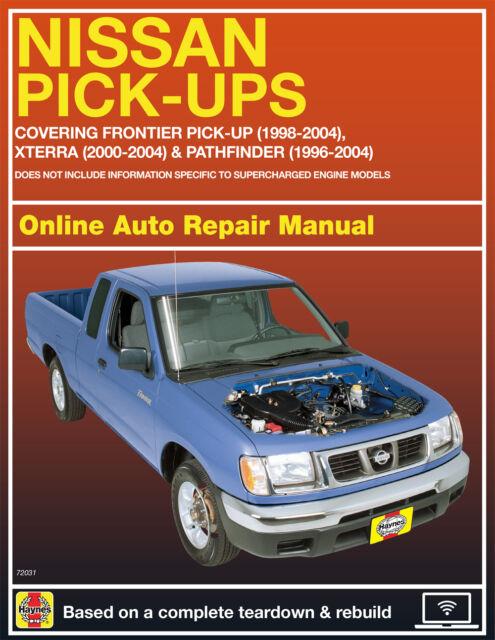 2003 Nissan Pathfinder Haynes Online Repair Manual