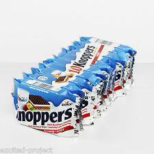 STORCK - KNOPPERS - Original German Milk-Hazelnut Chocolate Wafer Snack - 10pcs