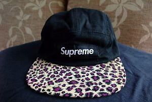 65c62c832ee Supreme Safari Leopard Cap Cap Box Logo 2011 Rare Orig Authentic