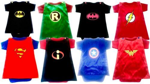 Superhero baby bodysuits supergirl batgirl marvel baby cosplay outfit costume