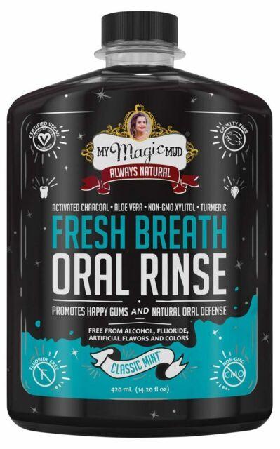 My Magic Mud Charcoal Oral Rinse - Classic Mint 420ml