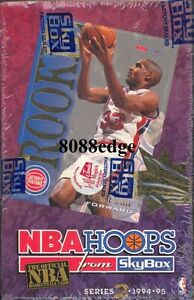1994-95-94-95-HOOPS-SERIES-2-HOBBY-SEALED-BOX-JASON-KIDD-GRANT-HILL-ROOKIE-RC