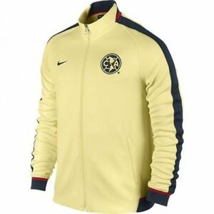 a31bc13937e Image is loading NIKE-CLUB-AMERICA-AUTHENTIC-N98-TRACK-JACKET-Yellow-