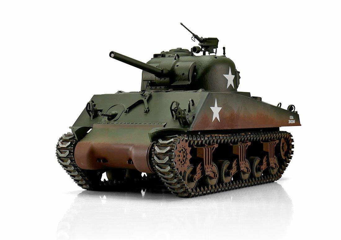 RC 1 16 Panzer Sherman M4A3 Profi-Edition IR Version Torro