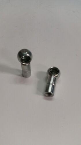 Porsche 356 911 and 912 Left hand ball sockets for carburetor linkage