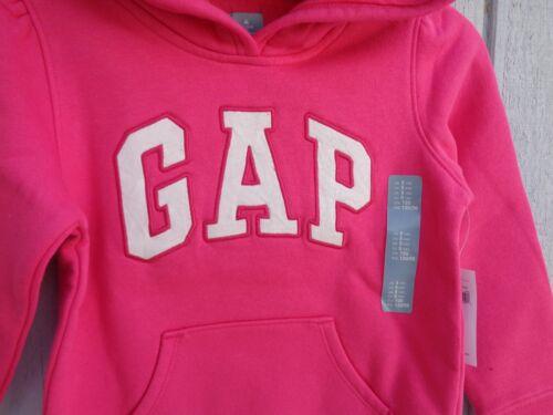 New Baby GAP à capuche sz 3 T 4 T Logo 5 T Filles Toddler Veste à Capuche Pull Polaire