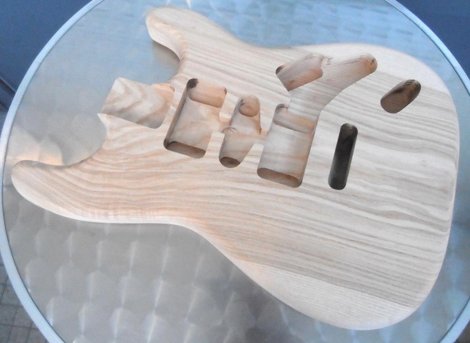 ST Custom Ash Body / S Esche Korpus - Einteilig - Natur Finish