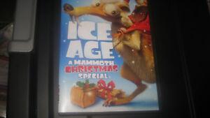 ice age mammoth christmas dvd 20th century fox vhs children 39 s family movie lot ebay. Black Bedroom Furniture Sets. Home Design Ideas