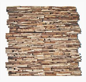 3D-Holz-Wandverkleidung-HO-006-Teak-Edelholz-Wand-Verblender-Riemchen-Wurzelholz