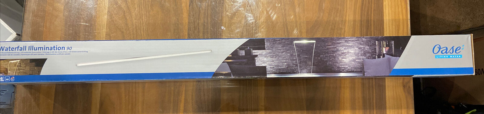OASE WATERFALL ILLUMINATION LED LIGHTING POND CASCADE SPILLWAY WATER BLADE