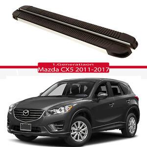 Trittbretter Schweller Seitenbretter ALU für Mazda CX5