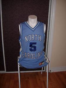 f47343d8dd0 North Carolina Tar-Heels NCAA #5 Size Medium (M) Jersey Blue Nike ...