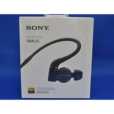 Sony XBA-Z5 Balanced Armature In-Ear Headphones Japan Domestic Version New