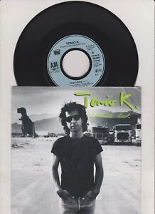 TONIO-K-Without-Love-7-034-VINYL-What-B-w-I-Can-039-t-Stop-am-Pic-Sleeve-near-mint