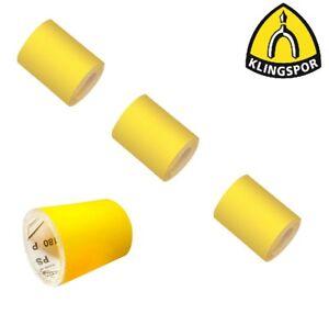 Klingspor-Sanding-Sandpaper-Roll-40-180-Grit-115mm-x-4-5m-Mix-Sand-Paper-Rolls