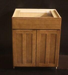 Kraftmad Cognac Maple Kitchen OR Bathroom Vanity Sink Base ...