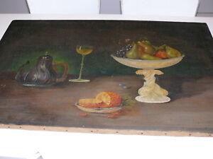 Rarität über 100 Jahre altes Oelbild Ölgemälde signiert Fr. Zimmer ? 99  1899