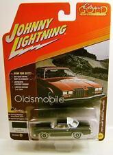 1977 '77 OLDS CUTLASS SUPREME BLACK JOHNNY LIGHTNING CLASSIC GOLD 2017 RARE