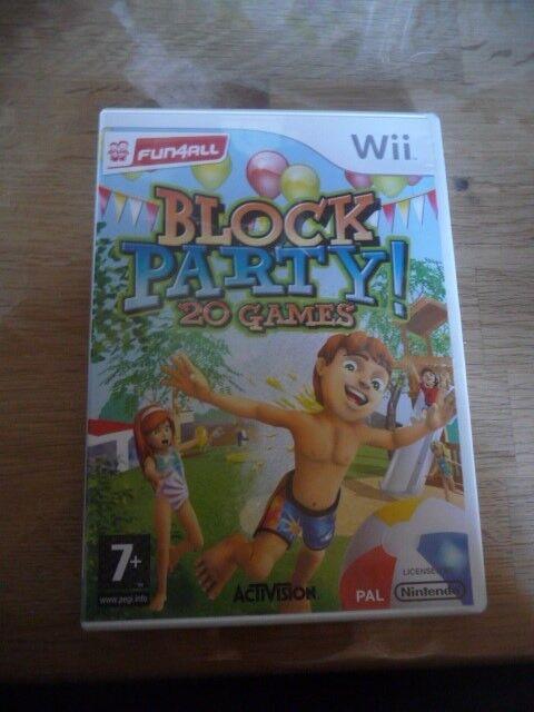 Block Party 20 Games, Nintendo Wii