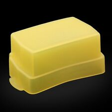 Yellow Flash Bounce Diffuser Cover for Nikon Speedlight Speedlite SB-600