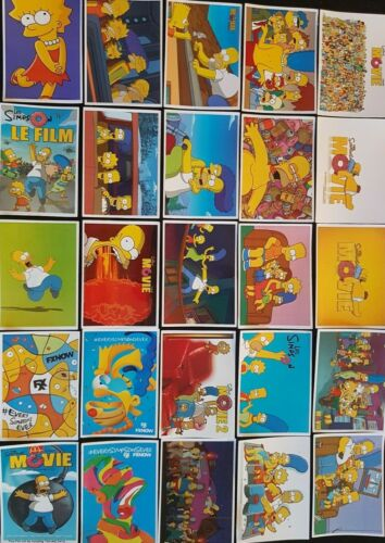 Simpsons Stickers 25 PCE Movie Music Culture Icon Fashion PC Car Decal Kid Party