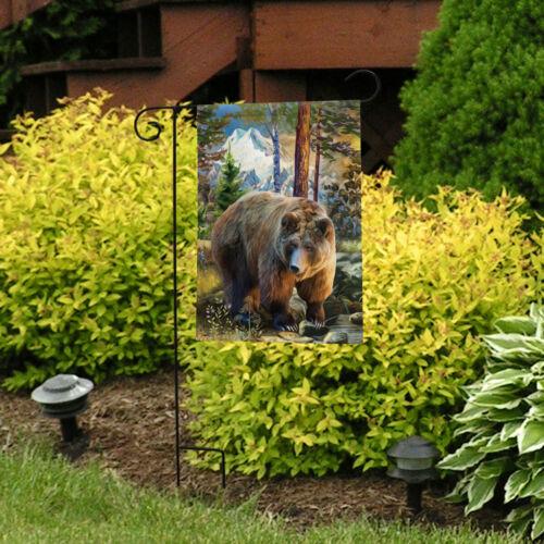 "Mountain Bear Summer Garden Flag Outdoors Wildlife 12.5/"" x 18/"" Briarwood Lane"