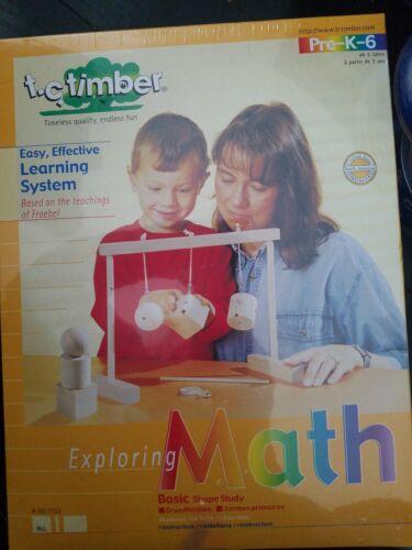 HABA T c timber toys Education T.C timber Exploring Math basic shape study k-6
