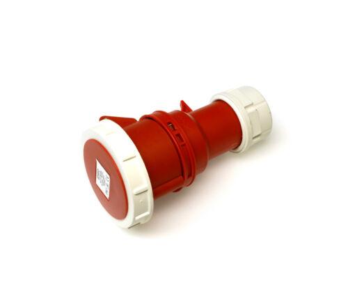415 Volt 16A 16 Amp 5 Pin impermeable IP67 Plug /& Acoplador se arrastra Socket 380V