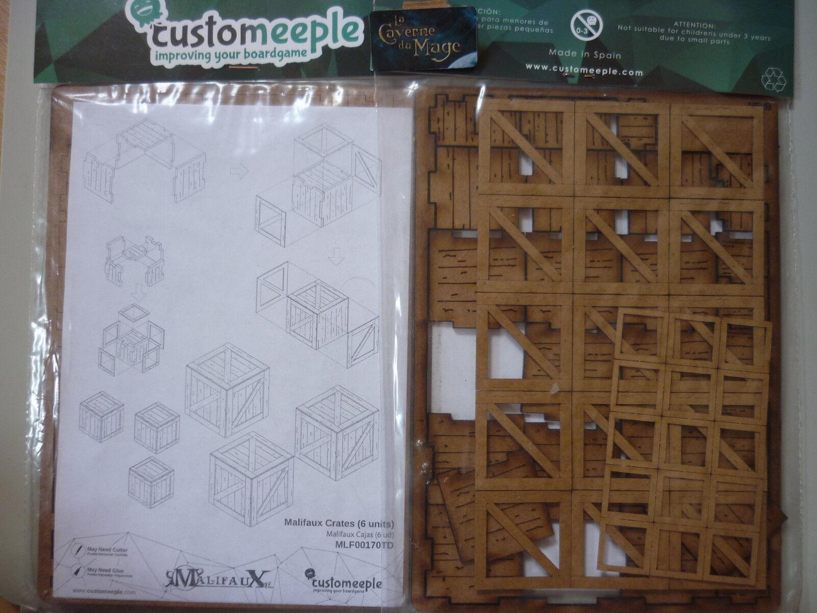 MALIFAUX - 6x Caisses   Crates