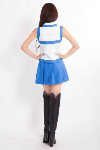 Anime Fairy Tail Lucy Heartfilia cosplay costume Uniform Suit Outfits Full Set