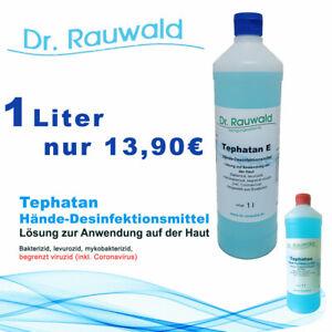 1000ml-1Liter-Desinfektionsmittel-Schnelldesinfektion-Haut-Haendedesinfektion