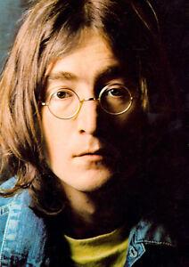 Image Is Loading Reproduction John Lennon Poster The Beatles 034 Colour