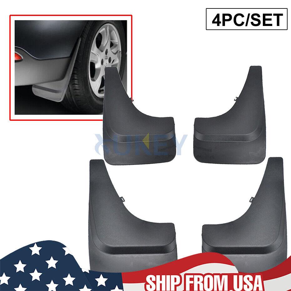 Car Accessories Universal Front Rear Mud Flap Flaps Splash Guard Mudguards Black