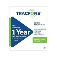 Tracfone $99.99 Refill -- 400 Minutes/365 Days