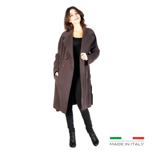 Fontana 2.0 Abbigliamento Donna Cappotto Marrone 72835 BDX