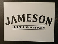 Jameson Irish Whiskey 11 X 8.5 Custom Stencil Fast Free Shipping