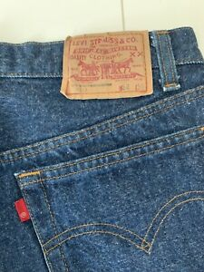 Vintage Levis 501. R Tab, 32x 36, 80s ,Made in USA
