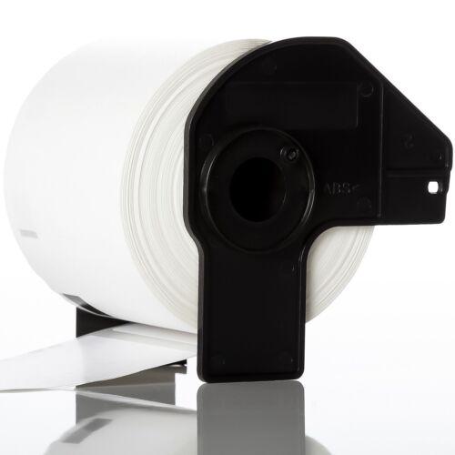 bobine QL-560 QL-570 QL-580N QL-1060N 25 X Nouveau Rolls 62 mm x 100 mm étiquettes Rouleau