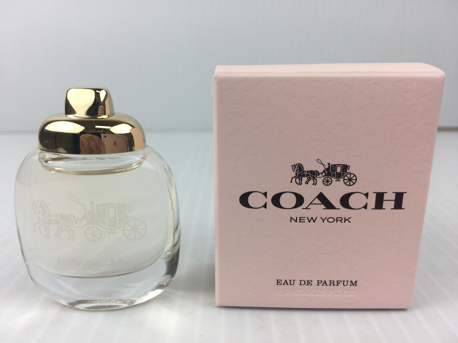 Details Women Coach Perfume Miniature De Parfum Box New York 0 4 5 Ml Oz About In Eau 15 srdCQxth