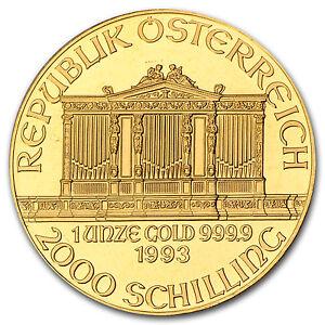 1993-Austria-1-oz-Gold-Philharmonic-BU-SKU-74665